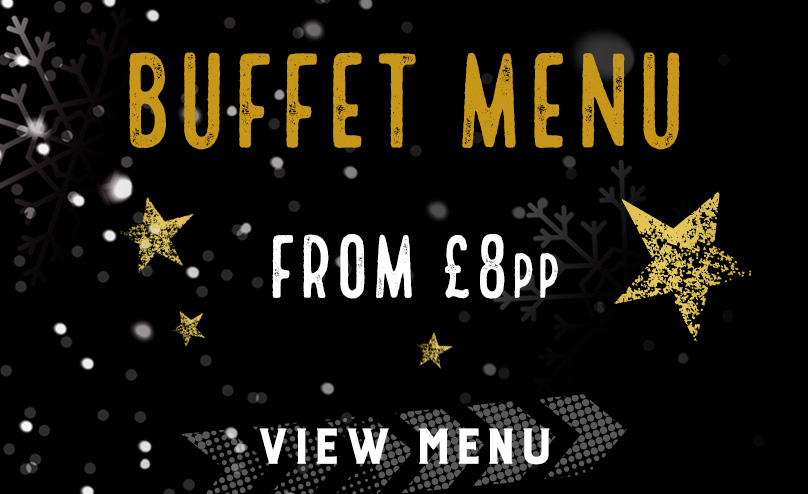 Festive buffet menu at The Trocadero